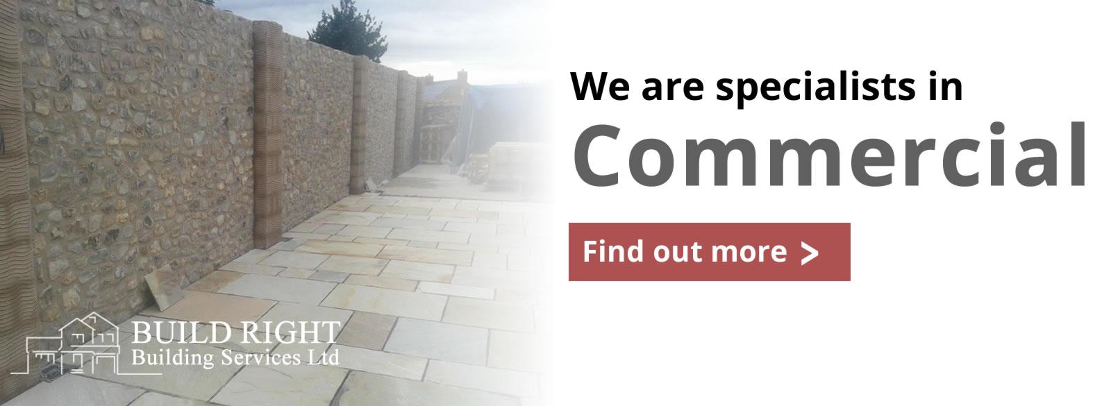 Build Right Building Services Ltd - Commercial construction builds