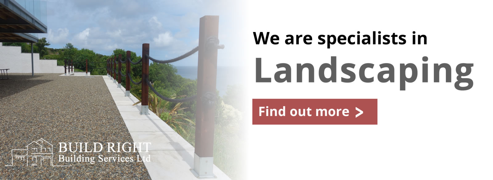 Build Right Building Services Ltd - Landscaping